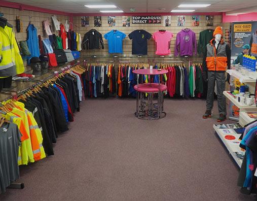 Custom Clothing, Sudbury, Suffolk - Top Marques Direct