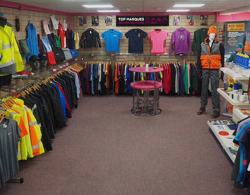 Custom Clothing, Sudbury, Suffolk - Top Marques Direct